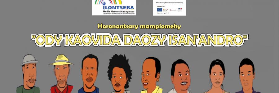 « Ody Kaovida, daozy isan'andro » ou « La lutte anti-Covid, une dose par jour »